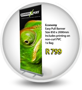 gRoll Up Banner Special. Delivery within Durban
